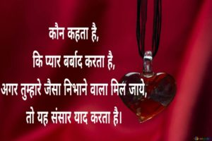 Love Partner hindi shayari collection