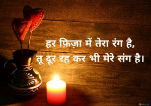 shayari on love in hindi language