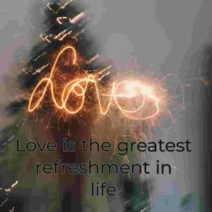 love is freshment