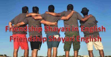 Friendship Shayari in English