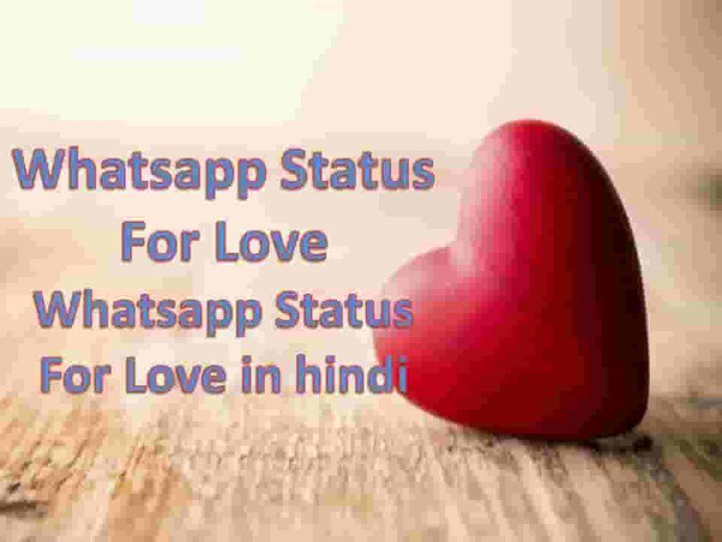 Whatsapp Status For Love